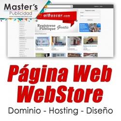 Página Web WebStore