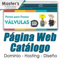 Página Web Catálogo