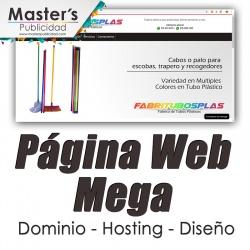 Página Web Mega