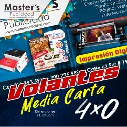 Volantes Media Carta Full...