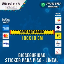 Stickers para piso Lineal...