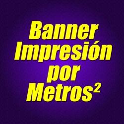 Banner impresión por metros
